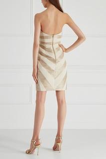 Платье с принтом Gareth Pugh