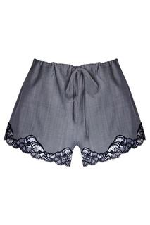 Шерстяные шорты Alexander Wang
