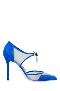 Замшевые туфли Aperlai