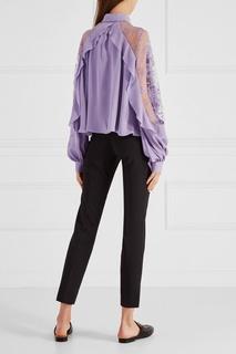 Шелковая блузка Elie Saab
