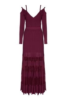 Платье в пол Elie Saab