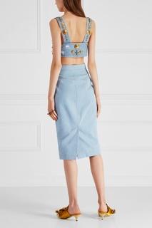Юбка из денима T Skirt