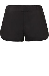 Замшевые мини-шорты с карманами DROMe