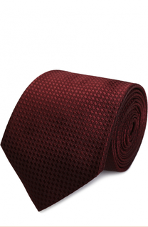 Шелковый галстук Armani Collezioni