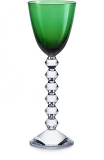 Фужер для вина зеленый Vega Baccarat