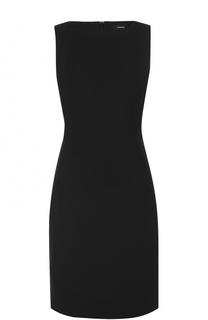 Приталенное платье-миди без рукавов Theory