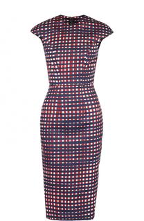 Облегающее платье-миди с принтом Stella Jean