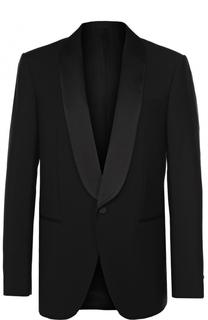 Шерстяной однобортный пиджак с шалевыми лацканами Balenciaga