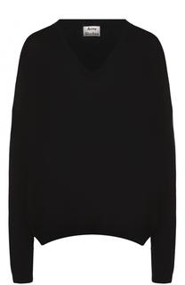 Пуловер свободного кроя с V-образным вырезом Acne Studios
