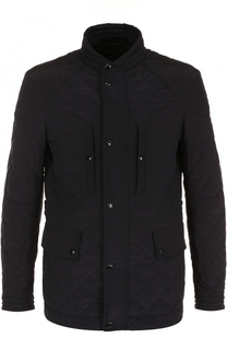 Стеганая куртка на молнии с воротником-стойкой Tom Ford