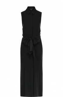 Приталенное платье-рубашка без рукавов Tara Jarmon