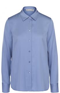 Шелковая блуза свободного кроя Vince