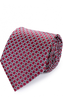 Комплект из шелкового галстука и платка Brioni