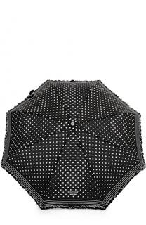 Складной зонт в горох Moschino