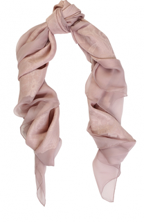 Платок из шелка и вискозы и вышивкой Elie Saab