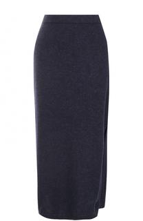 Вязаная юбка-миди с разрезом Tak.Ori