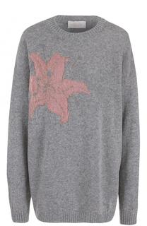 Пуловер свободного кроя с цветочным принтом Tak.Ori