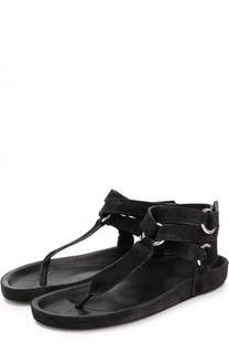 Замшевые сандалии с широкими ремешками Isabel Marant Etoile