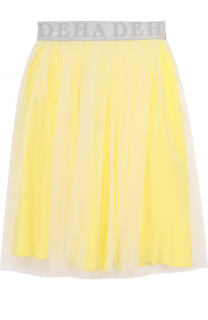 Пышная юбка-миди с эластичным поясом Deha