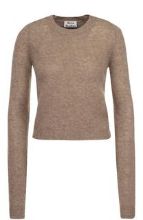 Шерстяной пуловер с круглым вырезом Acne Studios