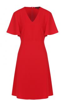 Приталенное мини-платье с V-образным вырезом Tara Jarmon
