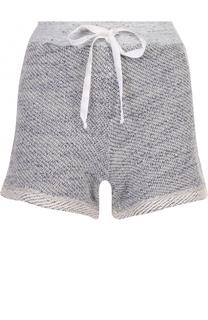 Мини-шорты фактурной вязки Clu