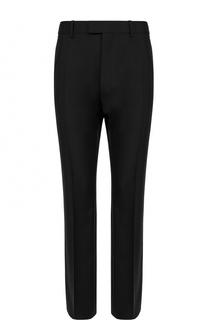Шерстяные брюки прямого кроя Balenciaga