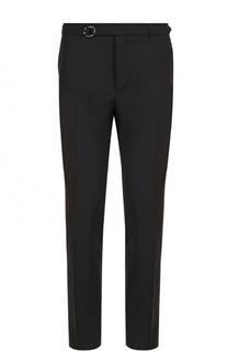 Шерстяные брюки прямого кроя Valentino