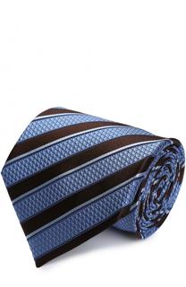 Шелковый галстук в полоску Ermenegildo Zegna