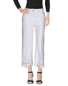 Джинсовые брюки-капри Blumarine
