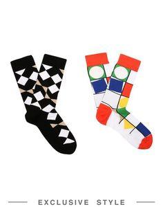 Короткие носки Arthur Arbesser x Yoox