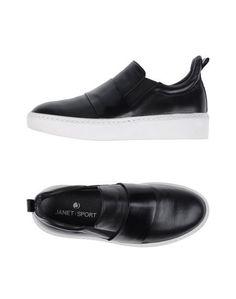 Низкие кеды и кроссовки Janet & Janet