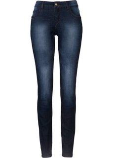 Джинсы-скинни стретч, высокий рост (L) (темно-синий) Bonprix