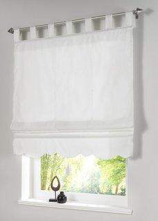 Римская штора, петли (натуральный) Bonprix