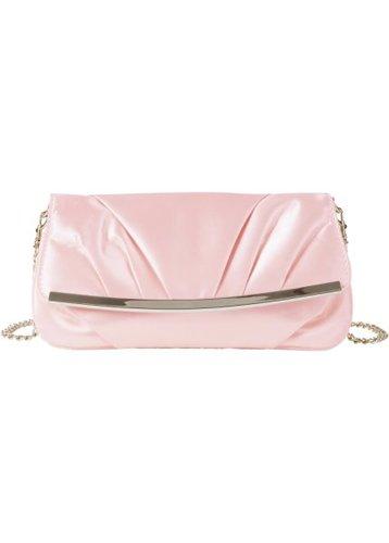 Вечерняя сумочка/клатч Ребекка (ярко-розовый)