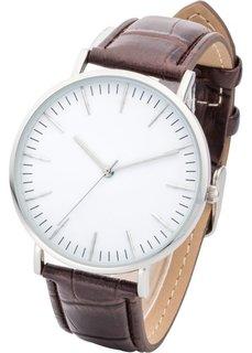 Классические мужские часы (темно-коричневый) Bonprix