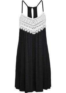 Летнее платье (черный) Bonprix