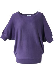 Пуловер (фиолетовый) Bonprix