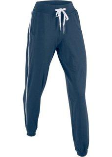 Брюки-джоггеры стретч (темно-синий) Bonprix
