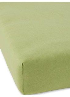 Простыня-чехол Джерси (зеленый) Bonprix