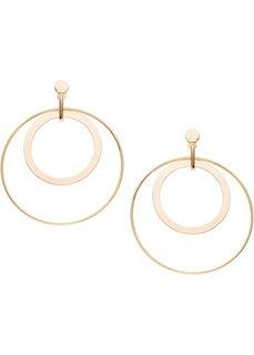 Сережки-кольца (золотистый) Bonprix