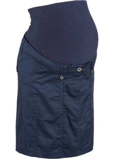 Юбка-карго для беременных (темно-синий) Bonprix