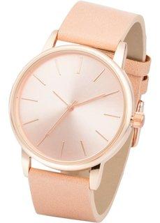 Классические часы (телесный/розово-золотистый) Bonprix
