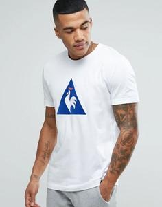 Белая футболка с принтом Le Coq Sportif Essential 1710445 - Белый