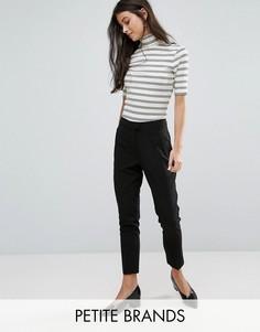 Узкие брюки New Look Petite - Черный