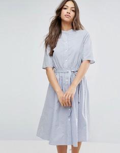 Платье-рубашка Vero Moda - Синий