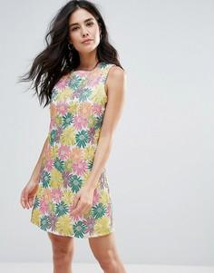Цельнокройное платье Glamorous - Мульти