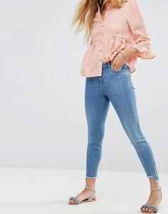 Асимметричные джинсы Miss Selfridge - Синий