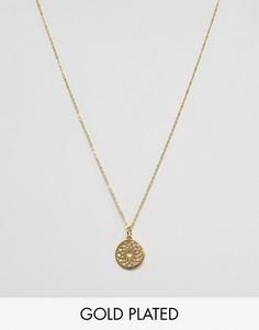 Ожерелье с подвеской Ottoman Hands - Золотой