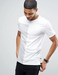 Длинная футболка с нашивками Only & Sons - Кремовый